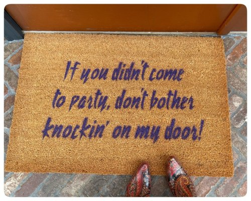 Prince Purple Doormat