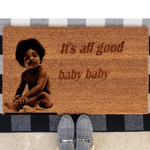 Notorious B.I.G. Doormat