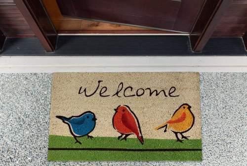 For The Birds Doormat