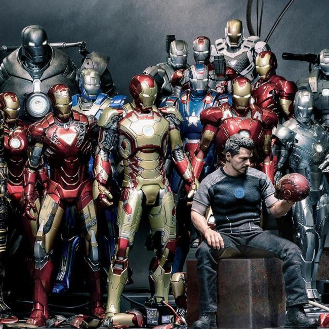 Iron Man Print Canvas Art