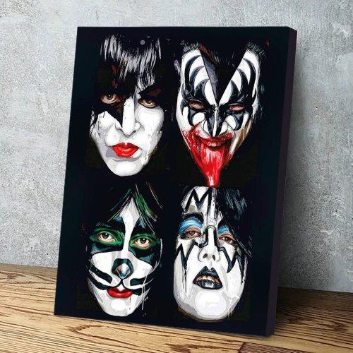 Kiss Canvas Wall Art
