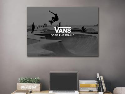 VANS  Off The Wall  Canvas Wall Art