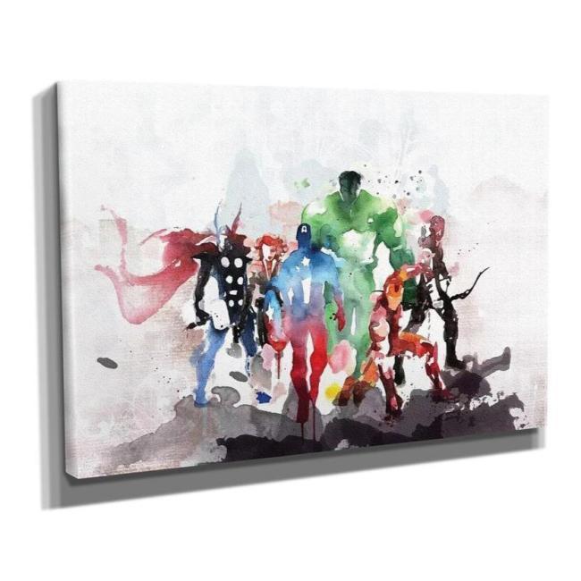Marvel Avengers Poster Movie Comics Canvas Print