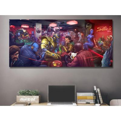 Marvel Character Collection Canvas Wall Art
