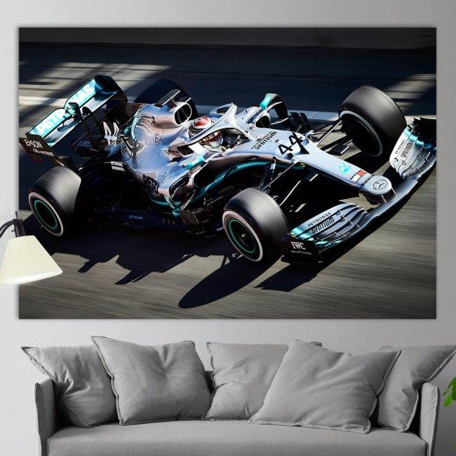 Lewis Hamilton Formula 1Canvas Wall Art