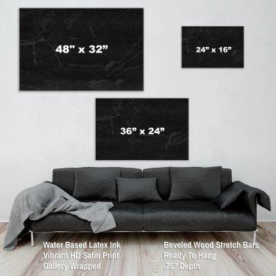 Bitcoin Canvas Wall Art