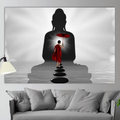 Abstract Buddhism Canvas Wall Art