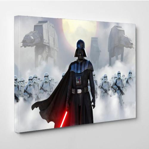 Darth Vader Midnight Star Wars Canvas Wall Art