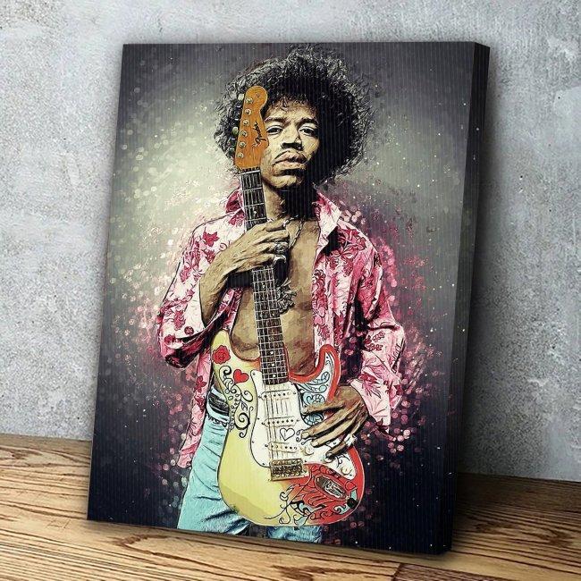 Jimi Hendrix Canvas Wall Art