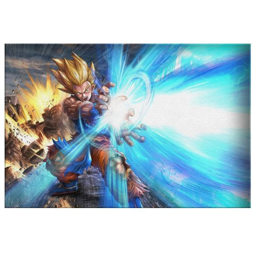 Dragon Ball Goku and Vegeta Canvas Wall Art