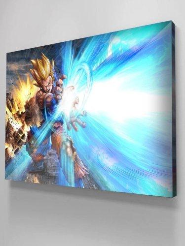 Dragon Ball Goku and Vegeta Canvas Wall Art