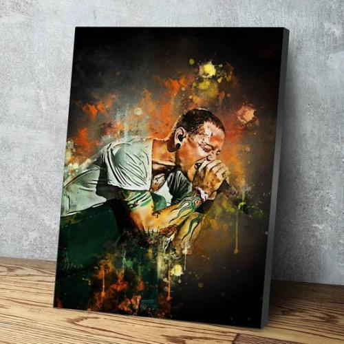Chester Bennington Canvas Wall Art