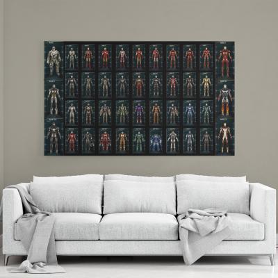 Iron Man Avengers Marvel - Canvas Wall Art