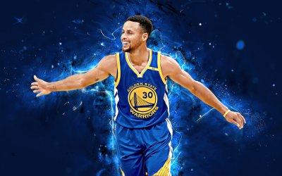 Stephen Curry Golden State Warriors Canvas Wall Art