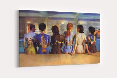Pink Floyd Musics Canvas Wall Art