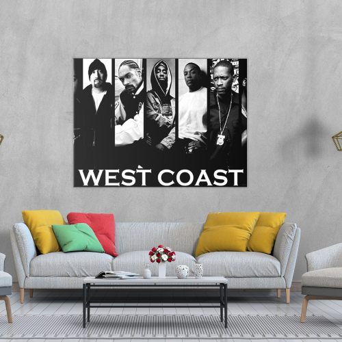 West Coast Canvas Wall Art