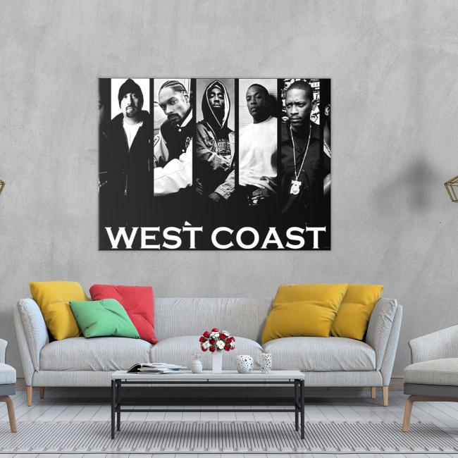 West Coast Canvas Wall Art