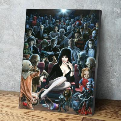 Horror Movie Collection Canvas Wall Art