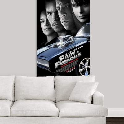 Fast and Furious 4 (2009) Canvas Wall Art