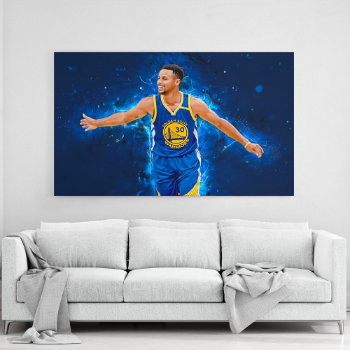 Stephen Curry Golden State Warriors Canvas Wall Art