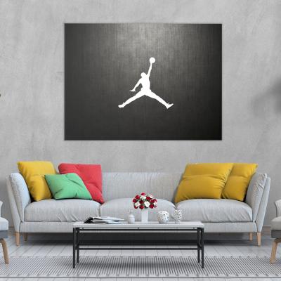 Air Jordan Logo Canvas Wall Art