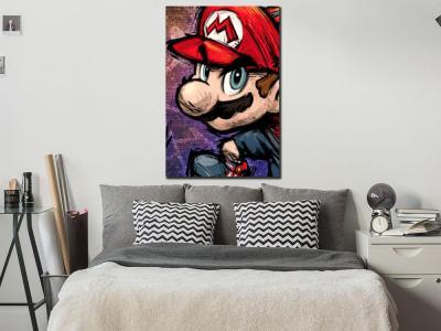Super Mario Canvas Wall Art