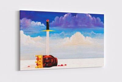 Kanye West Pop Art Canvas Wall Art