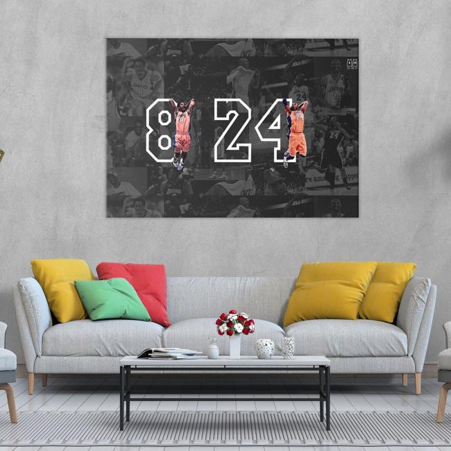 Kobe Bryant Legend / Canvas Wall Art