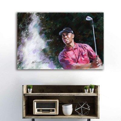 Tiger Woods Canvas Wall Art