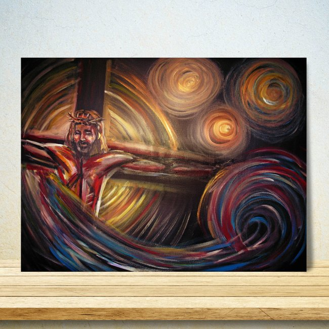 Illuminate Jesus Canvas Art