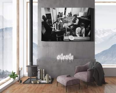 The Beatles Recording Studio Canvas Wall Art