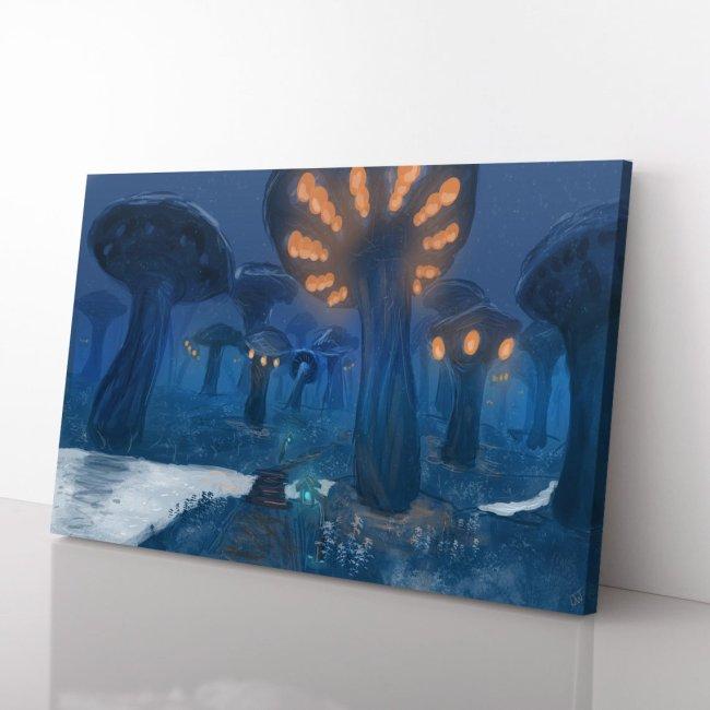 World of Warcraft zangarmarsh Print Canvas art