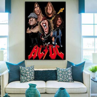 AC ⚡ DC  Canvas Wall Art