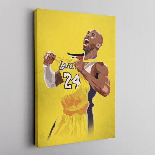 Kobe Bryant Canvas Wall Art