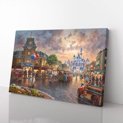 Disneyland 60th Anniversary – Limited Edition Canvas Wall Art