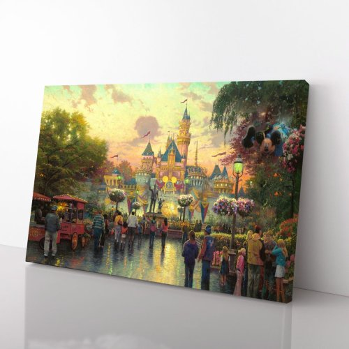 Disneyland, 50th Anniversary – Limited Edition Canvas