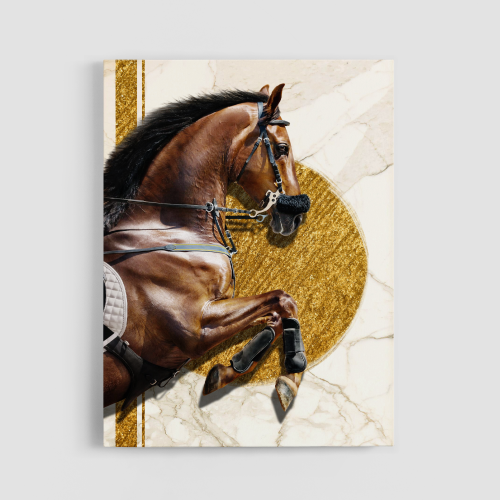 GOLD SPIRIT Canvas Wall Art