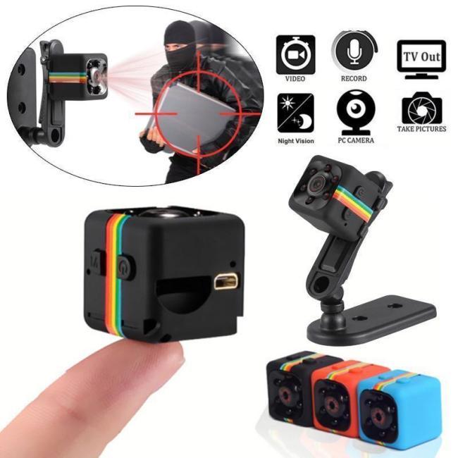 Anti-Theft® Mini Camera with Night Vision & Motion Sensor