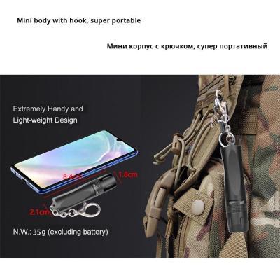 SUPERBRIGHT™ Keychain LED Flashlight