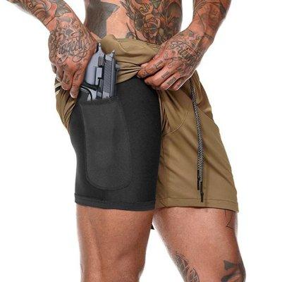 Buy 2 Save $5 Hidden Pocket Sports Shorts