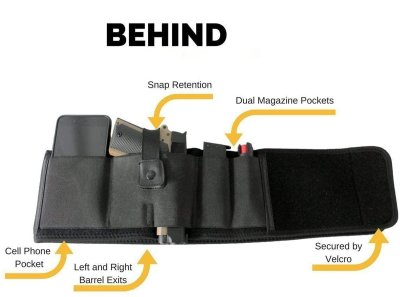 Buy 2 Save $5 Belly Band Holster