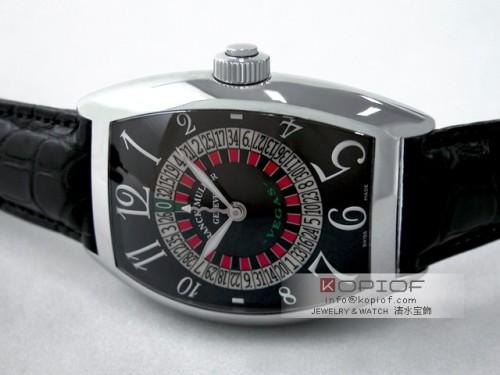 フランクミュラー ヴェガス スーパーコピー9880VEGAS AC AC ブラック皮 ブラック