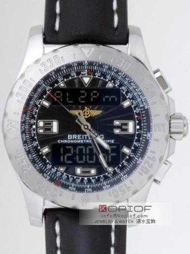 ブライトリング プロフェッショナル スーパーコピーエアウルフ A7836323/B822 A783B22KBA カーフ皮バックル ブラック