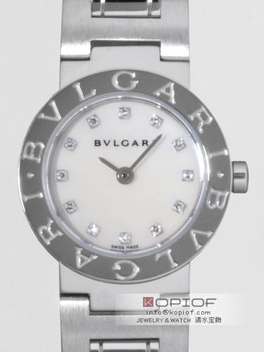 ブルガリ ブルガリブルガリ スーパーコピーBB23WSS/12/JN 12PD ホワイトシェル