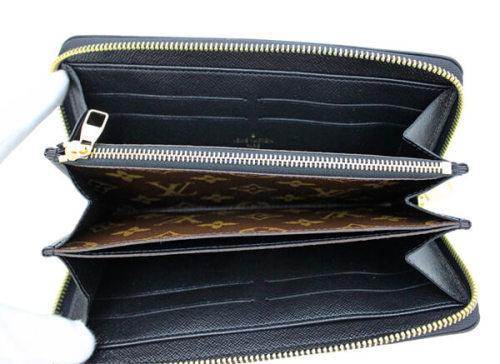 ルイヴィトン モノグラム・マカサー 財布スーパーコピーキャンバス ジッピーウォレット レティーロ M61188