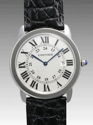 カルティエ ロンド スーパーコピーW6700255 SS LM ホワイト
