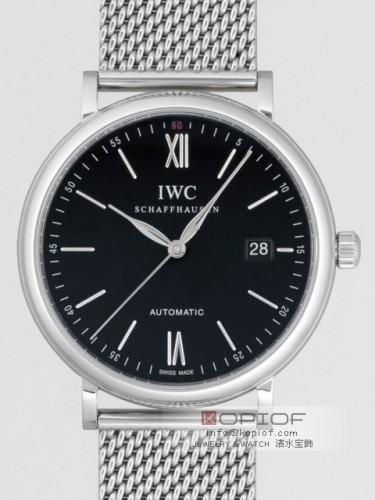 IWC スーパーコピーポートフィノ オートマティック IW356506 ブレス ブラック