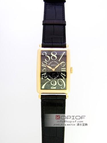フランクミュラー クレイジーアワーズ スーパーコピー1200CH 3N 3N(YG) ブラック皮 ブラック