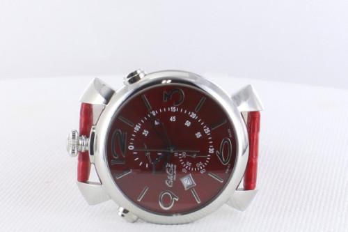 ガガミラノシンクロノ46MM スーパーコピーTHIN CHRONO ステンレス 時計 5097.04RD