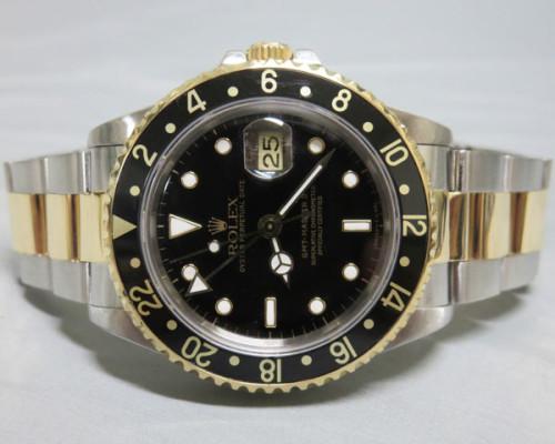 ロレックス GMTマスターII スーパーコピー116713LN ブラックベゼル ブラック